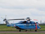 ここはどこ?さんが、札幌飛行場で撮影した警視庁 S-92Aの航空フォト(写真)