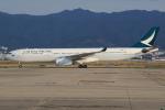 キイロイトリさんが、関西国際空港で撮影したキャセイパシフィック航空 A330-343Xの航空フォト(写真)