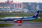スカイチームKMJ なぁちゃんさんが、福岡空港で撮影した全日空 737-881の航空フォト(写真)