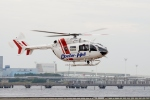 あきらっすさんが、東扇島東公園ヘリポートで撮影した朝日航洋 BK117C-2の航空フォト(写真)