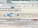 Naoxさんが、名古屋飛行場で撮影した中日新聞社 BK117C-2の航空フォト(写真)