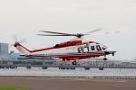 あきらっすさんが、東扇島場外ヘリポートで撮影した横浜市消防航空隊 AW139の航空フォト(写真)