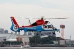 あきらっすさんが、東扇島場外ヘリポートで撮影した川崎市消防航空隊 AS365N3 Dauphin 2の航空フォト(写真)