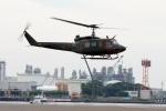 あきらっすさんが、東扇島場外ヘリポートで撮影した陸上自衛隊 UH-1Jの航空フォト(写真)