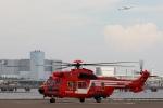 あきらっすさんが、東扇島場外ヘリポートで撮影した東京消防庁航空隊 EC225LP Super Puma Mk2+の航空フォト(写真)
