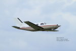 hikaruphotographさんが、名古屋飛行場で撮影した日本法人所有 PA-46-310P Malibuの航空フォト(写真)