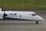 とらとらさんが、中部国際空港で撮影したANAウイングス DHC-8-402Q Dash 8の航空フォト(飛行機 写真・画像)