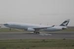 とらとらさんが、中部国際空港で撮影したキャセイパシフィック航空 A330-342Xの航空フォト(飛行機 写真・画像)