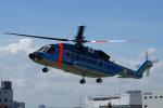 神宮寺ももさんが、東京ヘリポートで撮影した警視庁 S-92Aの航空フォト(写真)