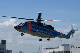 神宮寺ももさんが、東京ヘリポートで撮影した警視庁 S-92Aの航空フォト(飛行機 写真・画像)
