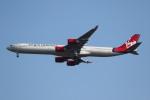 sky-spotterさんが、ロンドン・ヒースロー空港で撮影したヴァージン・アトランティック航空 A340-642の航空フォト(写真)