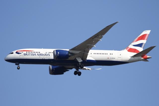 航空フォト:G-ZBJH ブリティッシュ・エアウェイズ 787-8 Dreamliner