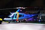 hidetsuguさんが、札幌飛行場で撮影した山形県警察 A109E Powerの航空フォト(写真)