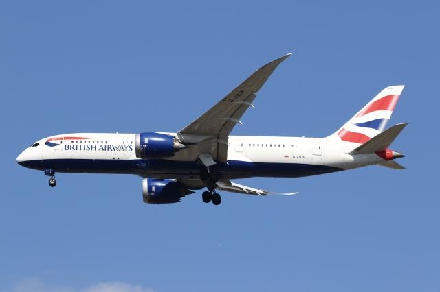 航空フォト:G-ZBJF ブリティッシュ・エアウェイズ 787-8 Dreamliner