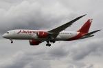 sky-spotterさんが、ロンドン・ヒースロー空港で撮影したアビアンカ航空 787-8 Dreamlinerの航空フォト(写真)