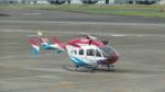 バンチャンさんが、名古屋飛行場で撮影した島根県防災航空隊 BK117C-2の航空フォト(写真)