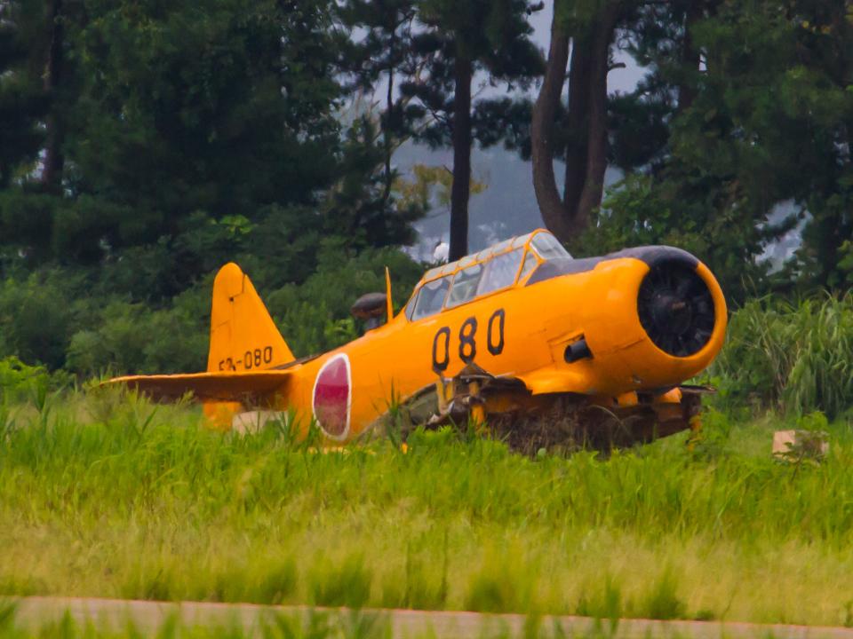 Mame @ TYOさんの航空自衛隊 North American T-6 Texan (52-0080) 航空フォト