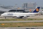 キイロイトリさんが、関西国際空港で撮影したルフトハンザドイツ航空 747-430の航空フォト(写真)