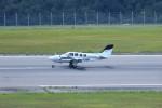 ヒロジーさんが、広島空港で撮影した航空大学校 G58 Baronの航空フォト(写真)
