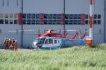 神宮寺ももさんが、東京ヘリポートで撮影した川崎市消防航空隊 BK117C-2の航空フォト(写真)