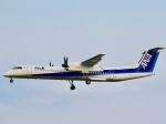 れもねりあさんが、成田国際空港で撮影したANAウイングス DHC-8-402Q Dash 8の航空フォト(飛行機 写真・画像)