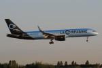 ぼんやりしまちゃんさんが、パリ オルリー空港で撮影したラ・カンパニー 757-204の航空フォト(写真)