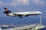 JA946さんが、関西国際空港で撮影したルフトハンザ・カーゴ MD-11Fの航空フォト(写真)