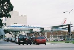 ゴンタさんが、ロサンゼルスで撮影したユナイテッド航空 DC-8-52の航空フォト(飛行機 写真・画像)