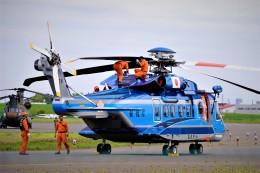 hidetsuguさんが、札幌飛行場で撮影した警視庁 S-92Aの航空フォト(飛行機 写真・画像)