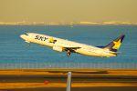 まいけるさんが、羽田空港で撮影したスカイマーク 737-86Nの航空フォト(写真)