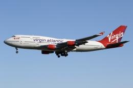 sky-spotterさんが、ロンドン・ガトウィック空港で撮影したヴァージン・アトランティック航空 747-443の航空フォト(飛行機 写真・画像)
