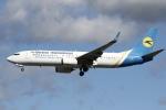 sky-spotterさんが、ロンドン・ガトウィック空港で撮影したウクライナ国際航空 737-84Rの航空フォト(写真)