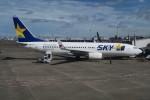職業旅人さんが、羽田空港で撮影したスカイマーク 737-8FZの航空フォト(写真)