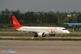 YuukiToonoさんが、蘭州中川国際空港で撮影したGXエアラインズ ERJ-190-100 LR (ERJ-190LR)の航空フォト(飛行機 写真・画像)