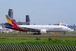 yabyanさんが、成田国際空港で撮影したアシアナ航空 777-28E/ERの航空フォト(飛行機 写真・画像)