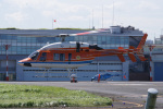 神宮寺ももさんが、東京ヘリポートで撮影した新日本ヘリコプター 427の航空フォト(写真)