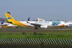 yabyanさんが、成田国際空港で撮影したセブパシフィック航空 A330-343Xの航空フォト(飛行機 写真・画像)