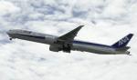 planetさんが、オヘア国際空港で撮影した全日空 777-381/ERの航空フォト(飛行機 写真・画像)