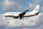 sky-spotterさんが、ロンドン・ガトウィック空港で撮影したプライベートエア 737-7CN BBJの航空フォト(飛行機 写真・画像)
