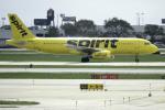 planetさんが、オヘア国際空港で撮影したスピリット航空 A320-232の航空フォト(写真)