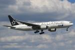 キイロイトリさんが、福岡空港で撮影した全日空 777-281の航空フォト(写真)