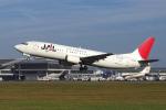 yabyanさんが、中部国際空港で撮影したJALエクスプレス 737-446の航空フォト(飛行機 写真・画像)