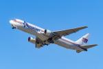 LAX Spotterさんが、ロサンゼルス国際空港で撮影したアメリジェット・インターナショナル 767-338/ERの航空フォト(写真)