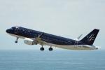 ちゃぽんさんが、中部国際空港で撮影したスターフライヤー A320-214の航空フォト(飛行機 写真・画像)