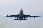 スカイチームKMJ なぁちゃんさんが、福岡空港で撮影した大韓航空 747-4B5の航空フォト(写真)