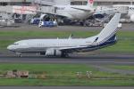 キイロイトリさんが、羽田空港で撮影したボーイング 737-7BC BBJの航空フォト(写真)