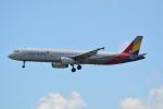 LEGACY-747さんが、那覇空港で撮影したアシアナ航空 A321-231の航空フォト(飛行機 写真・画像)