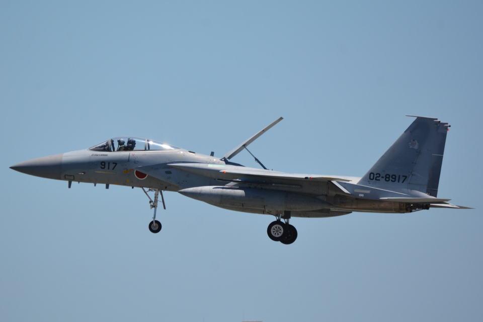 LEGACY-747さんの航空自衛隊 Mitsubishi F-15J Eagle (02-8917) 航空フォト