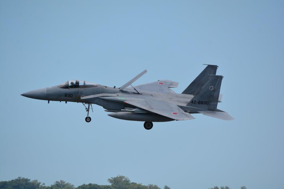 LEGACY-747さんの航空自衛隊 Mitsubishi F-15J Eagle (42-8830) 航空フォト