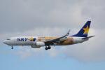 LEGACY-747さんが、那覇空港で撮影したスカイマーク 737-86Nの航空フォト(写真)